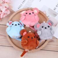 8CM Lovely Plush Toys Mouse Stuffed Animals Dolls Keychain New Year G NT