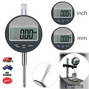 Digital Dial Test Indicator Gauge 0.01mm/.0005'' Measure Range 0-25.4mm/1'' NEW