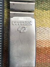 Citizen Bullhead stainless watch band.?