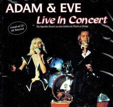 CD NEU/OVP - Adam & Eve - Live In Concert
