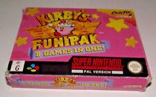 Kirby's Fun Pak 8 in 1 Super Nintendo SNES Boxed PAL *No Manual*