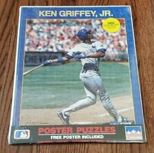 Ken Griffey Jr Seattle Mariners Vintage Starline 16x20 Poster Puzzle 16x20 Rare