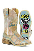 Tin Haul Boots Tin Haul Ladies Shoes Hippie Check Western Cowboy Boot