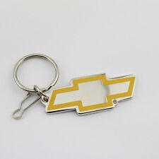 Original Chevrolet Chevy Bowtie Logo Muscle Car Schlüsselanhänger Anhänger Chrom