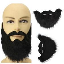 Halloween Mustache Facial Hair Costume Fancy Party Fake Beard Moustache 1PC LG