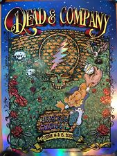 dead and company Special Edition Shiny poster Wrigley Field 2019