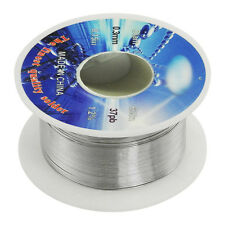 Solid Solder 0.3mm Flux Core 63% Tin 37% Lead Long Wire Reel BF