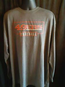 San Francisco 49ers Men's Majestic Big & Tall Shirt 3XLT