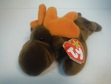 "TY BEANIE BABIES~CHOCOLATE~MOOSE~9""~1993~ORIGINAL~P.V.C.~TAG ERRORS~4015~MWMT"