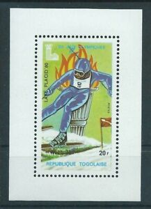 Togo,1980,Olympic Games,deluxe,RARE,exist 100 ONLY,MNH