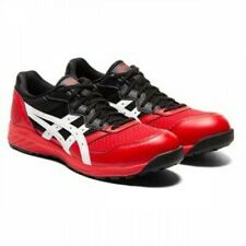 ASICS Safety Shoes 1273A006 2E JSAA fuzeGEL Classic Red x White  From Japan
