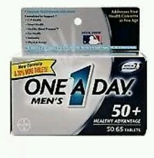 3x One A Day Men's 50+ Advantage Multivitamins, 65 Count each (Total 195 Tabs)