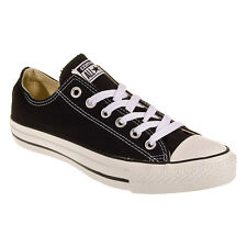 Converse Ox Low Top All Star Chucks Black & White Mens Womens Shoes Size 3.5-13