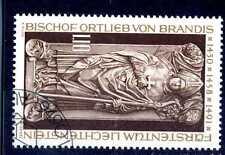 LIECHTENSTEIN - 1976  - Sarcofago del vescovo Ortlieb von Brandis.E1699