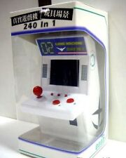 8.5 x 9 x 15 cm WHITE Game Machine 240 in 1 Arcade Mini Miniature Game machine