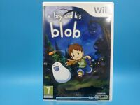 jeu video nintendo wii U complet PAL UK TBE a boy and his blob