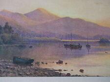 Alfred de Breanski Kilkenny sunset original lithograph print