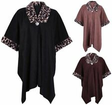 Poncho Hand-wash Only Casual Coats, Jackets & Vests for Women