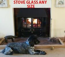 Clarke Cottager stove glass - 250 mm x 208 mm - Replacement For Wood Burners