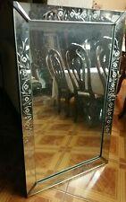 antique mid century mirror Italian venetian