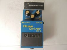 Boss BD-2 Blues Driver Overdrive Effects Pedal w/Keeley Phat Mod Modded Modified