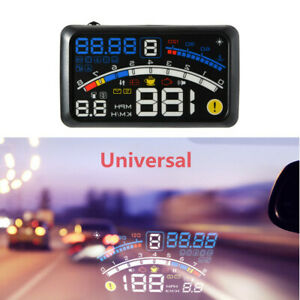 Wonderful 5.5'' OBII Car HUD Head Up Display Digital Speeding Warning System 1X