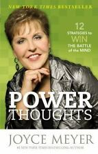 Power Thoughts Book by Joyce Meyer Paperback Christian Living For Women PB