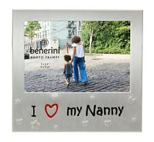 I Love My Nanny Photo Picture Frame Mother's Day Birthdays Christmas Nan Gifts