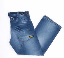 G-Star Jeans Reese Regular W34 L34 blau stonewashed 34/34 Straight -B3266