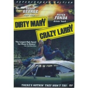 Dirty Mary Crazy Larry - Susan George - (Dvd Classic)