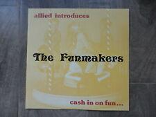 Funmakers Arcade Machines Flyer Original Allied Brochure