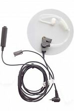 Motorola SL4000 earpiece 3 wire covert acoustic tube