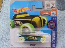 Hot Wheels 2016 #050/250 RIP ROD black with white wheels Case C Treasure Hunt