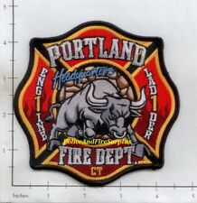 Connecticut - Portland Engine 1 Ladder 1 CT Fire Dept Patch