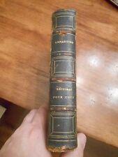 Lectures pour tous ou, extraits des oeuvres generales de Lamartine