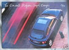 1997 Renault Megane Coupe range Brochure Publication Number. 7701 380 313