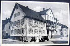 GERMANY~1936 RENNINGEN  GASTHOF ZUM HIRSCH  METZGEREI  RUDOLF EISENHARDT