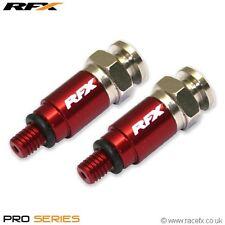 RFX Fork Bleeders RED YAMAHA YZ YZF WR WRF YZ125 YZ250 YZ85 WR125 WR250 WRF250