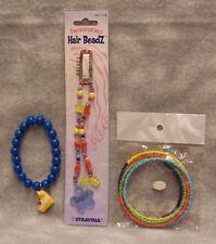 Lot 3 Rainbow Girl Jewelry Bracelets Hair Beads Taylor