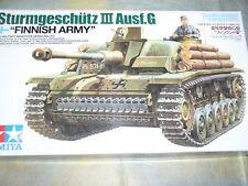 TAMIYA 1/35 surmgeschutz III Ausf. G carro armato dell'esercito finitura KIT #35310