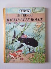 TINTIN  B07 1952  *  LE TRÉSOR DE RACKAM LE ROUGE (  AU MÉDAILLON )
