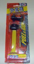 Pez Disney Pixar CARS Lightning McQueen PULL & GO magnetic Dispenser & Candy
