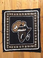 African Handmade Decorative Mud-cloth Painting/Wall Hanging - MALI 27X23