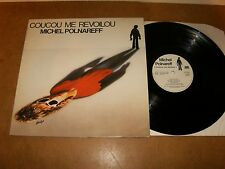 MICHEL POLNAREFF : COUCOU ME REVOILOU - LP FRANCE 1978 - ATLANTIC 50 529