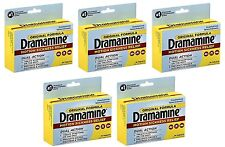 5 Pack Dramamine Motion Sickness Relief Original Formula, (36 Tablets, 50 MG EA)