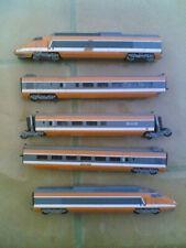 Convoglio LIMA TGV Sud Ouest colore arancio 5 elementi