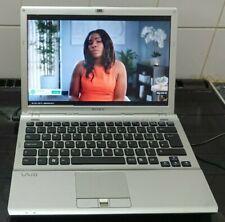 "SONY VAIO VGN-SR21M  (500GB HDD, 4GB RAM, WIN 7 ) 13.3"" LCD LAPTOP"