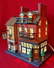Katie McCabe's Restaurant & Books Dept 56 Christmas in the City 59208 CIC snow