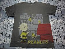 Youth Large- Charlie Brown Front And Back Print Peanuts Brand T- Shirt