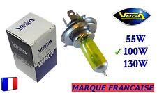 ► Ampoule Jaune ancien Marque Française VEGA® H4 100W Auto Moto 12V ◄